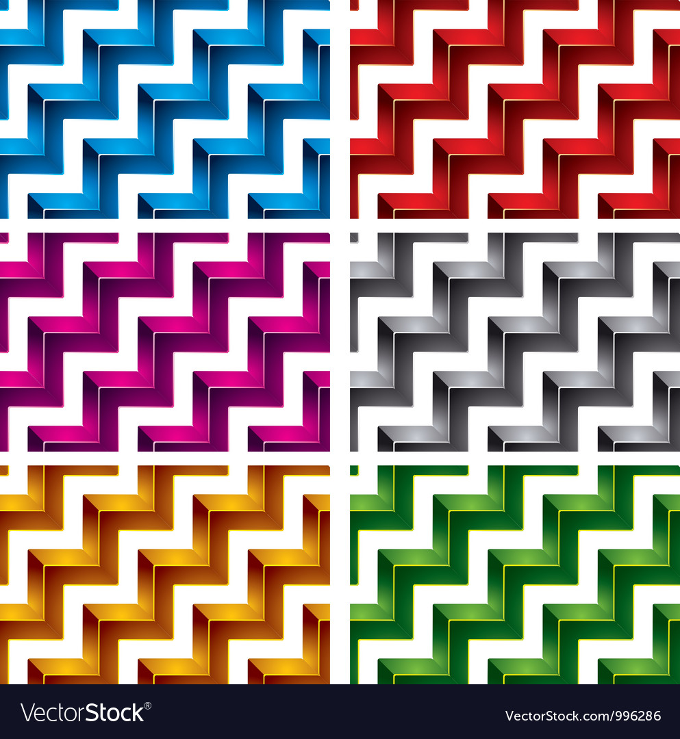 Steps seamless pattern vector image