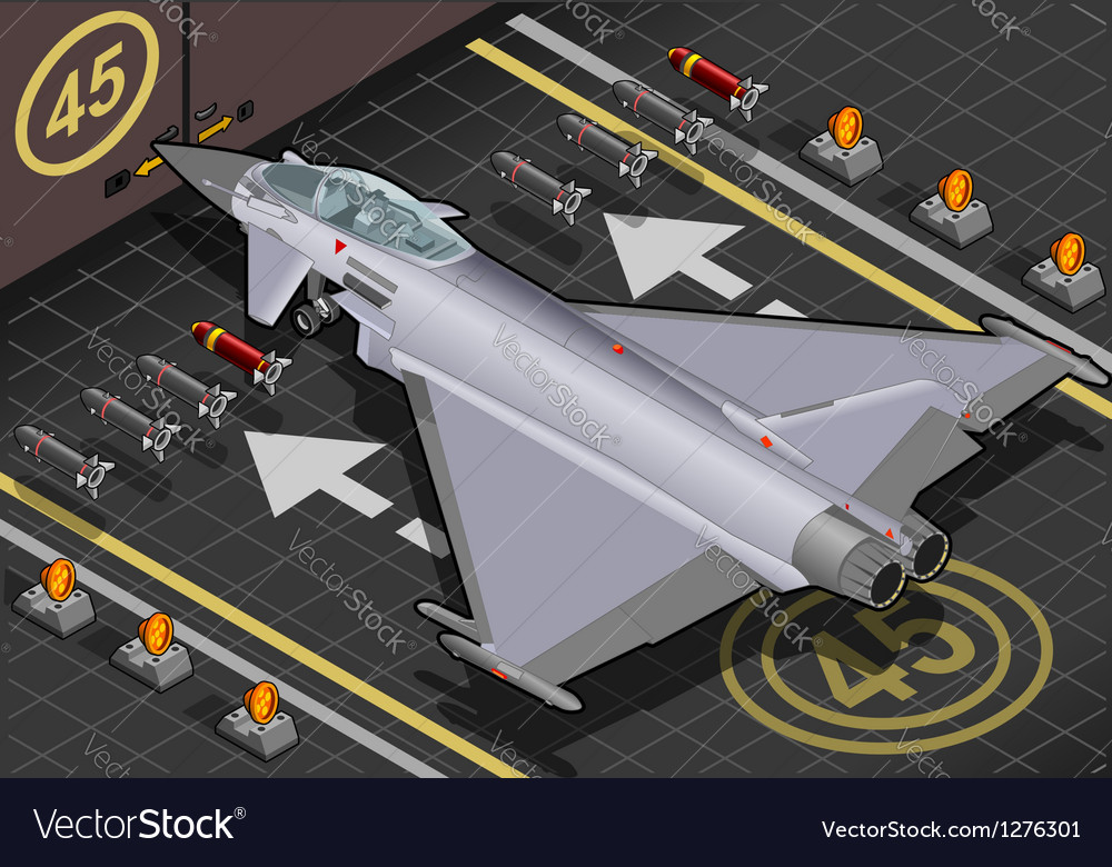 Eurofighter Vector Image