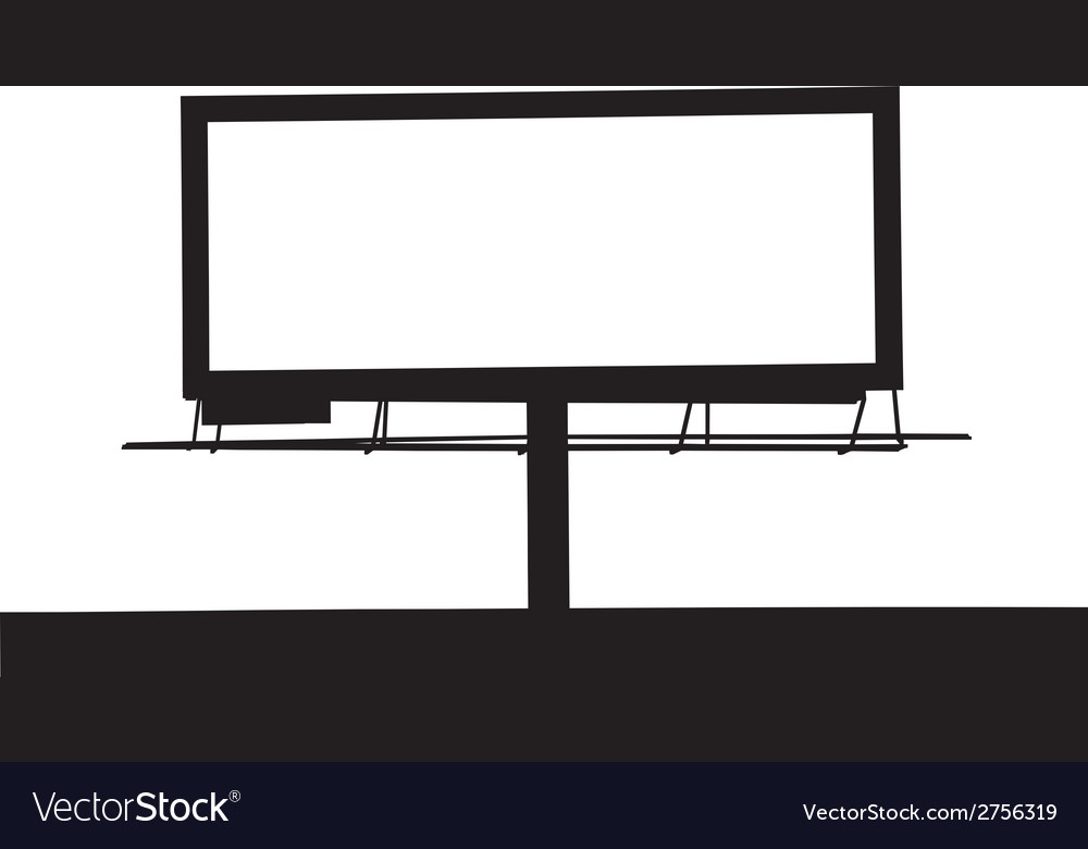 Large Billboard MG 0234 vector image