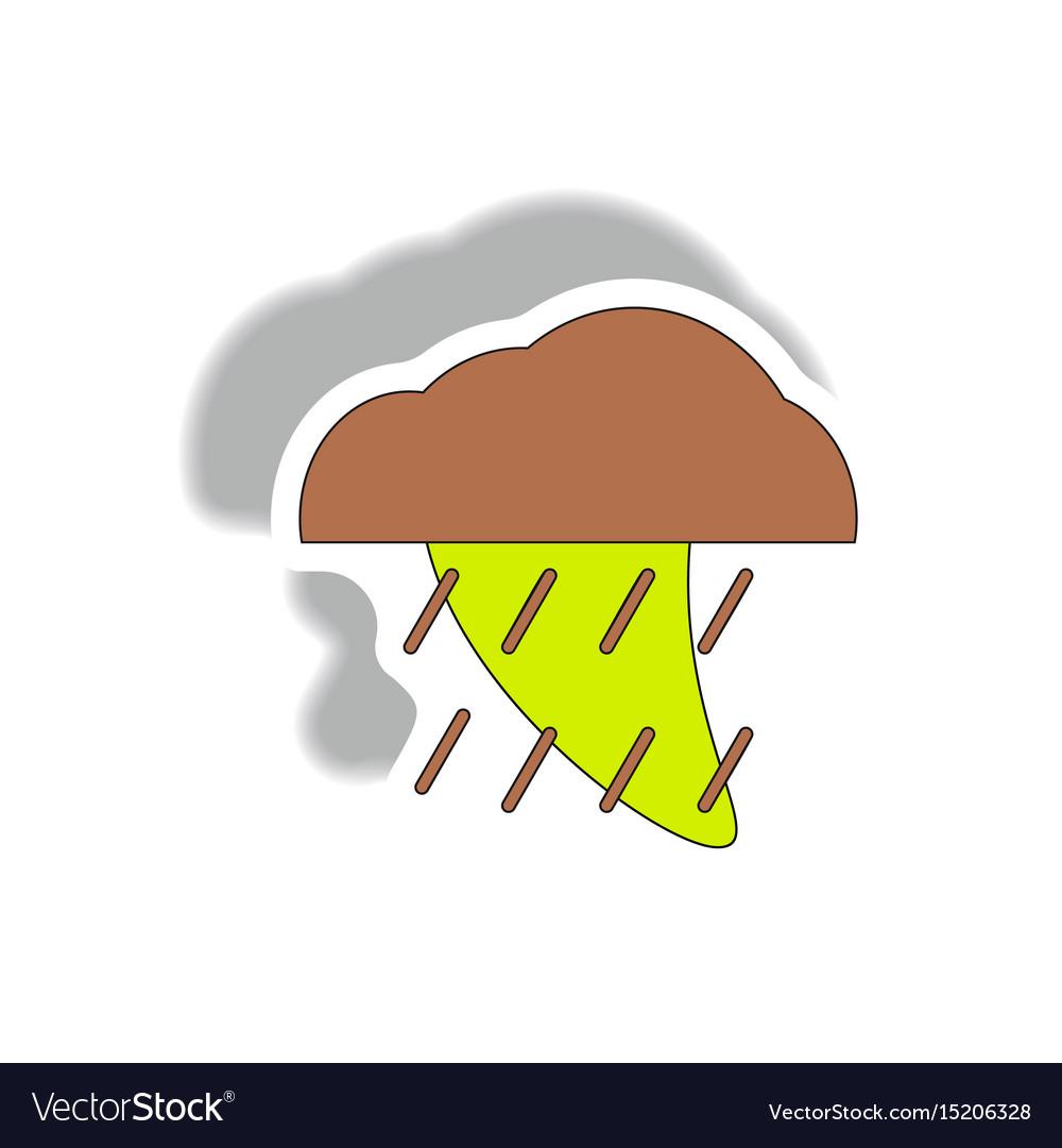 Rain cloud cloudburst downpour rain hurracian