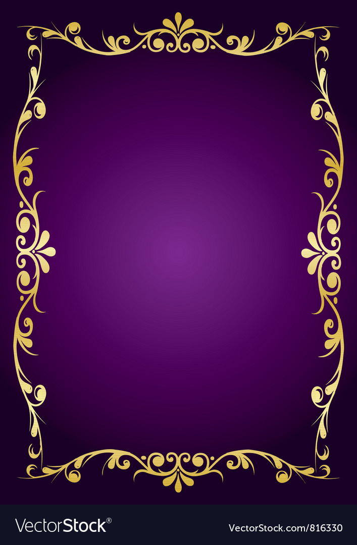 Purple luxury background vector image