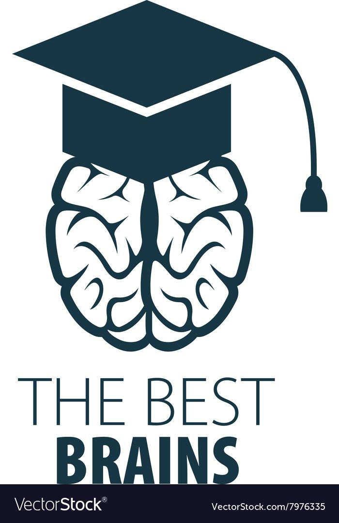 brain logo royalty free vector image - vectorstock