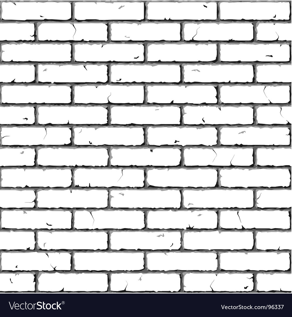 Brick wall seamless pattern Vector Image