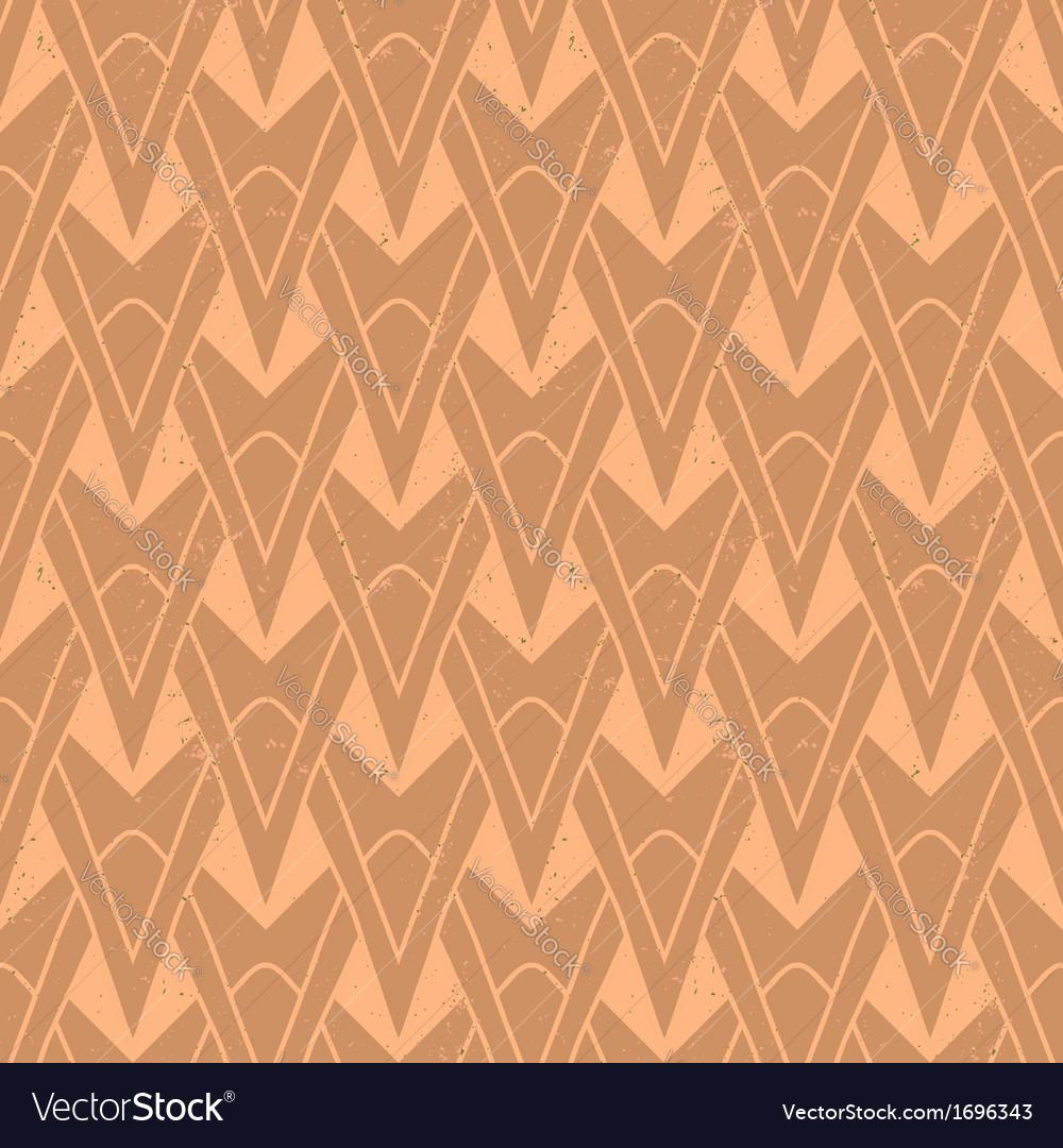 1930s geometric art deco pattern Royalty Free Vector Image