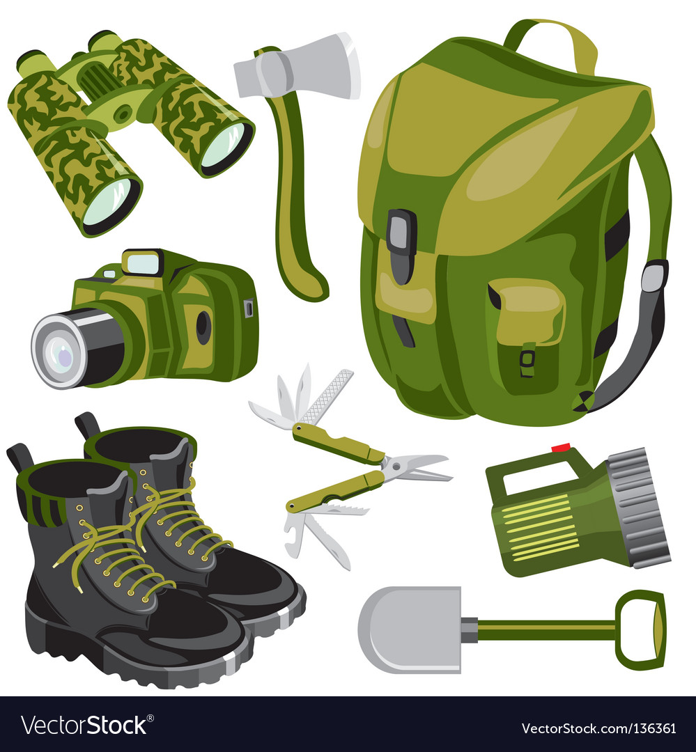 Object travel vector image