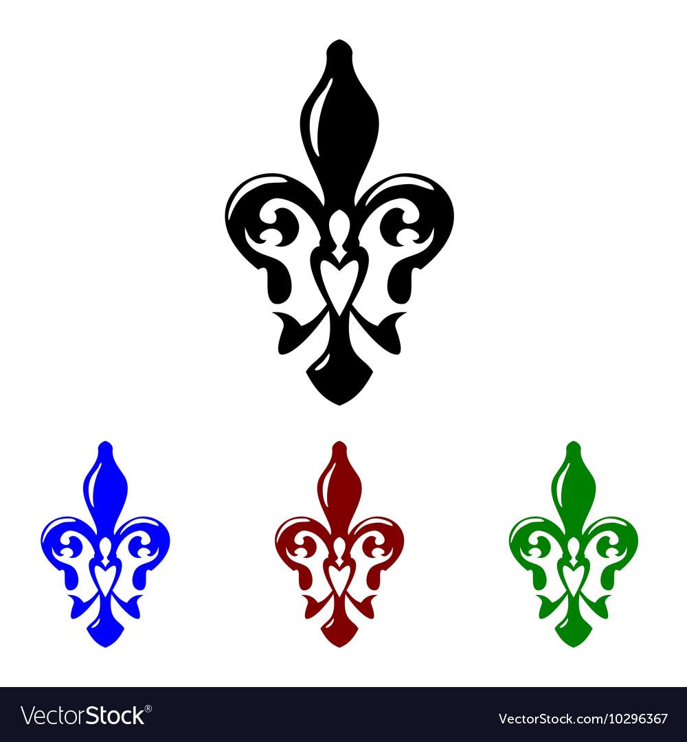 Fleur de lis symbol french lily icon royalty free vector fleur de lis symbol french lily icon vector image biocorpaavc Gallery