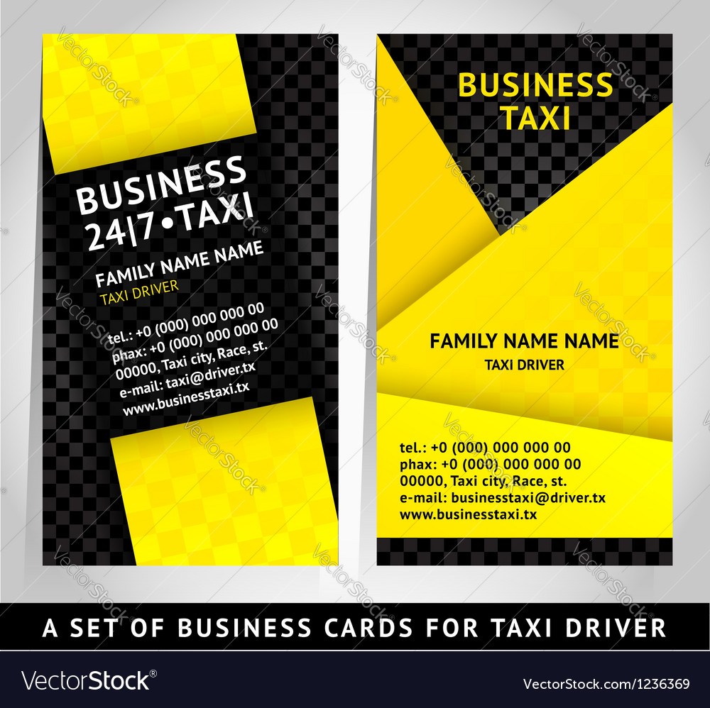 Card design - business card template Royalty Free Vector