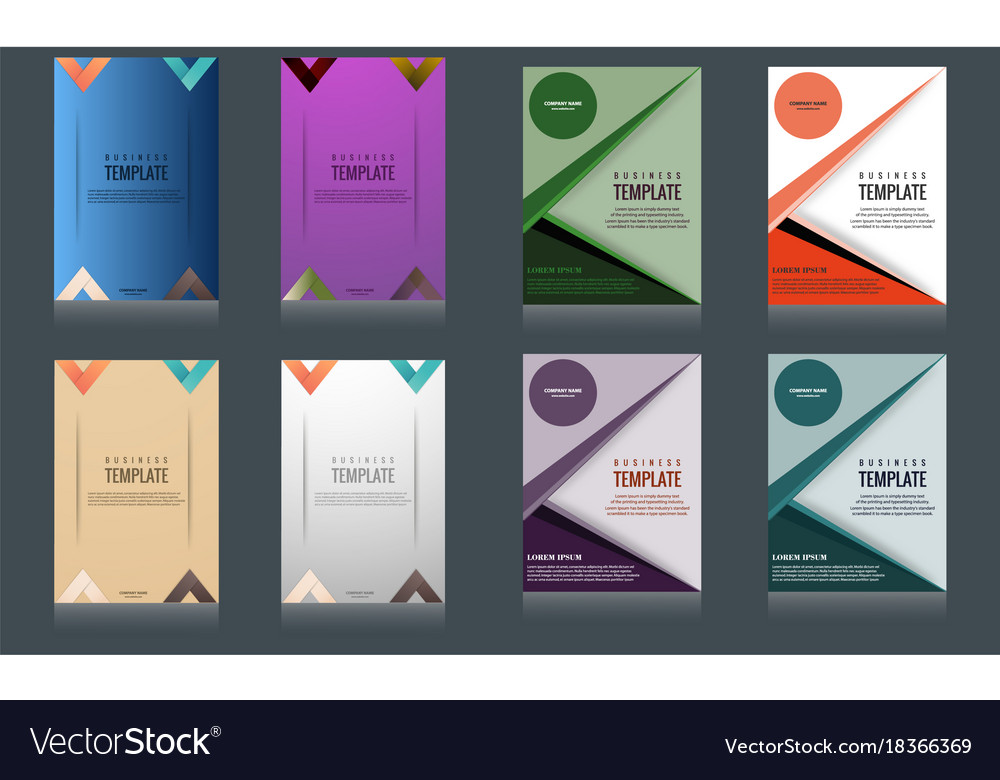 Sets Of Vertical Business Card Print Template Vector Image - Business card vertical template