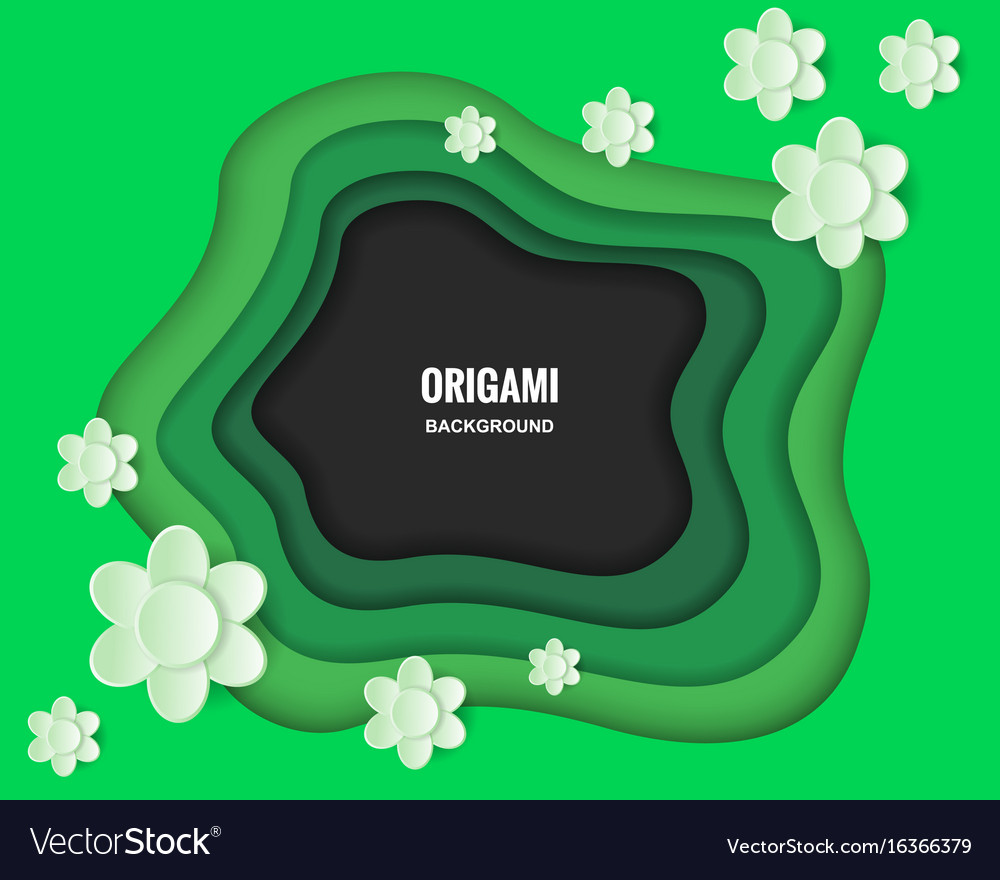 Layered background vector image