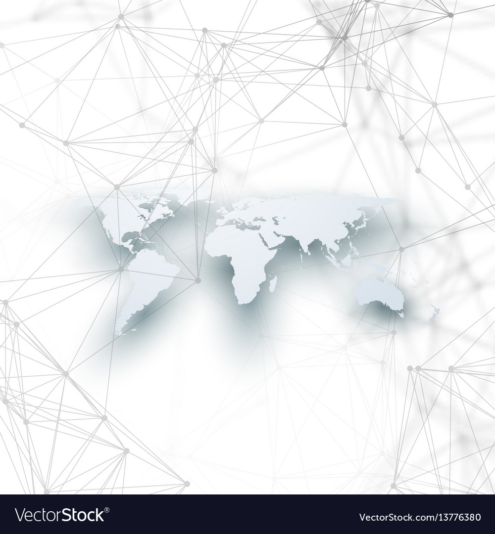 World map in perspective with shadow on white vector image gumiabroncs Images