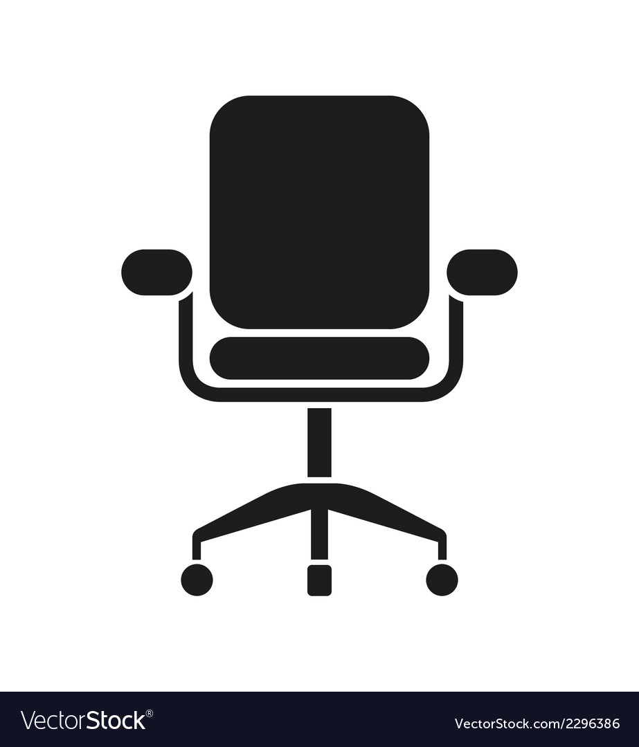 office chair icon. Office Chair Icon Vector Image I