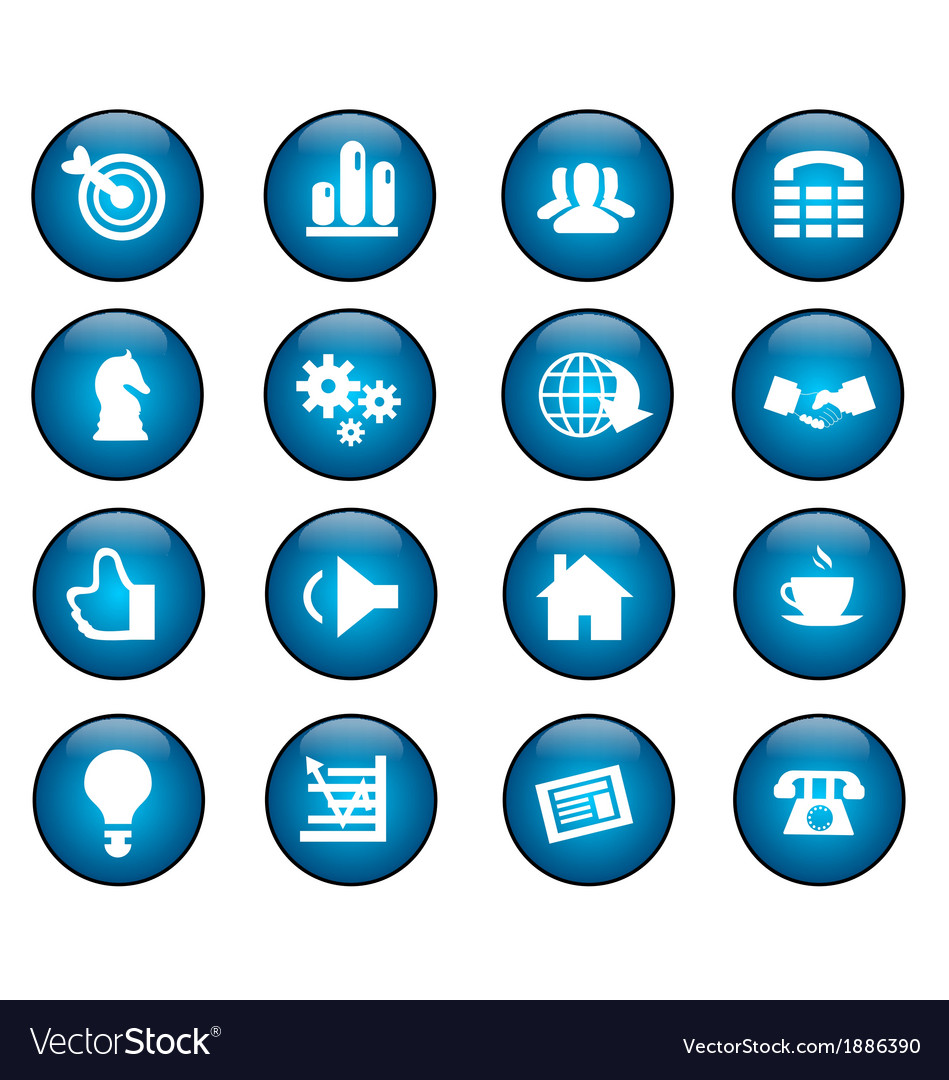 Bisnis icon vector image