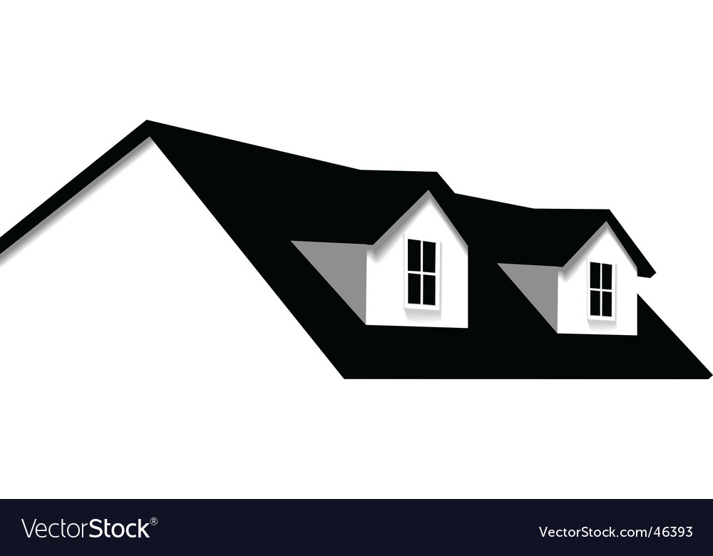 Nice House Design Vector Image
