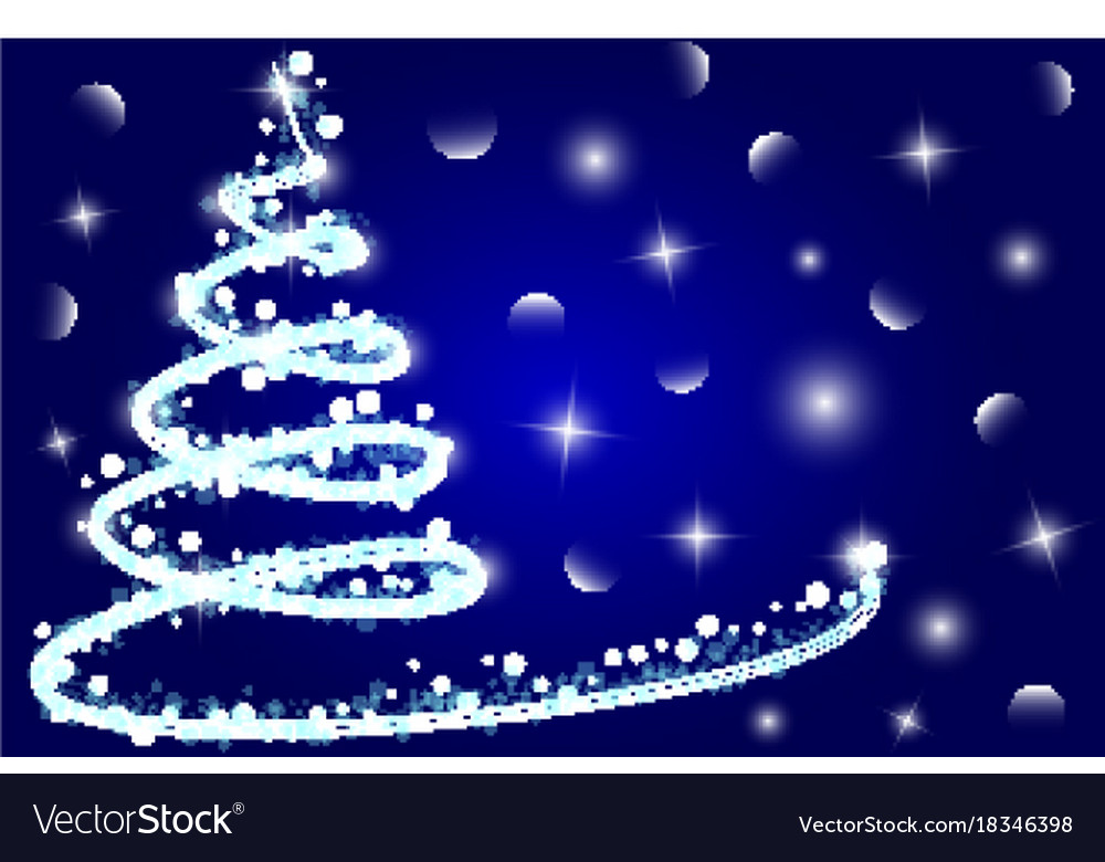 Superior Christmas Card Background Vector Image Awesome Design