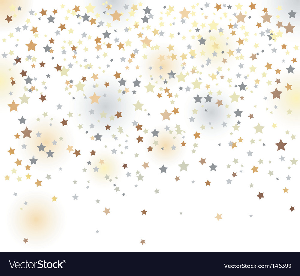 Confetti illustration vector image