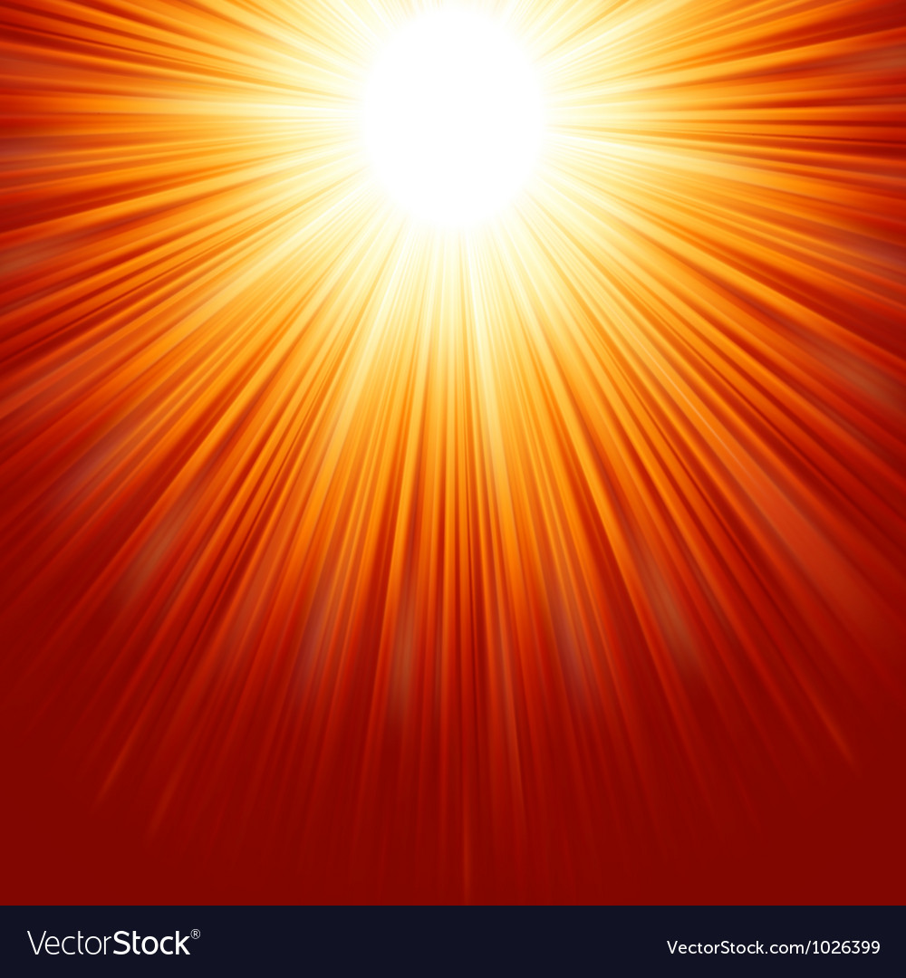 Abstract radiant star EPS 8 vector image
