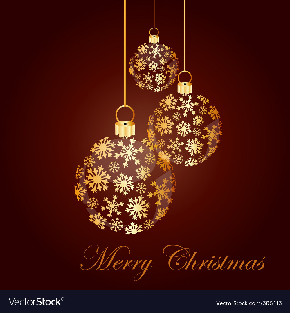 Christmas ball made from golde royalty free vector image christmas ball made from golde vector image aloadofball Images