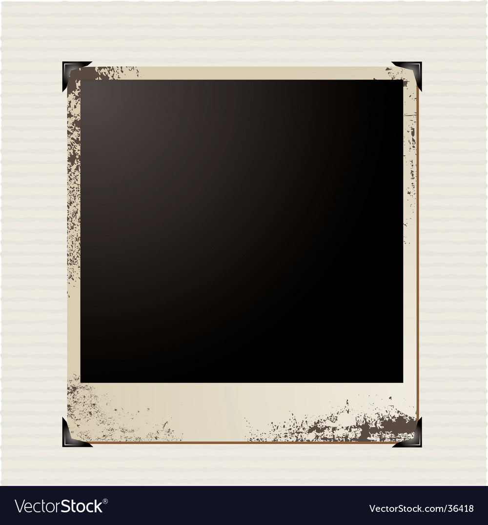 Picture corner vector image