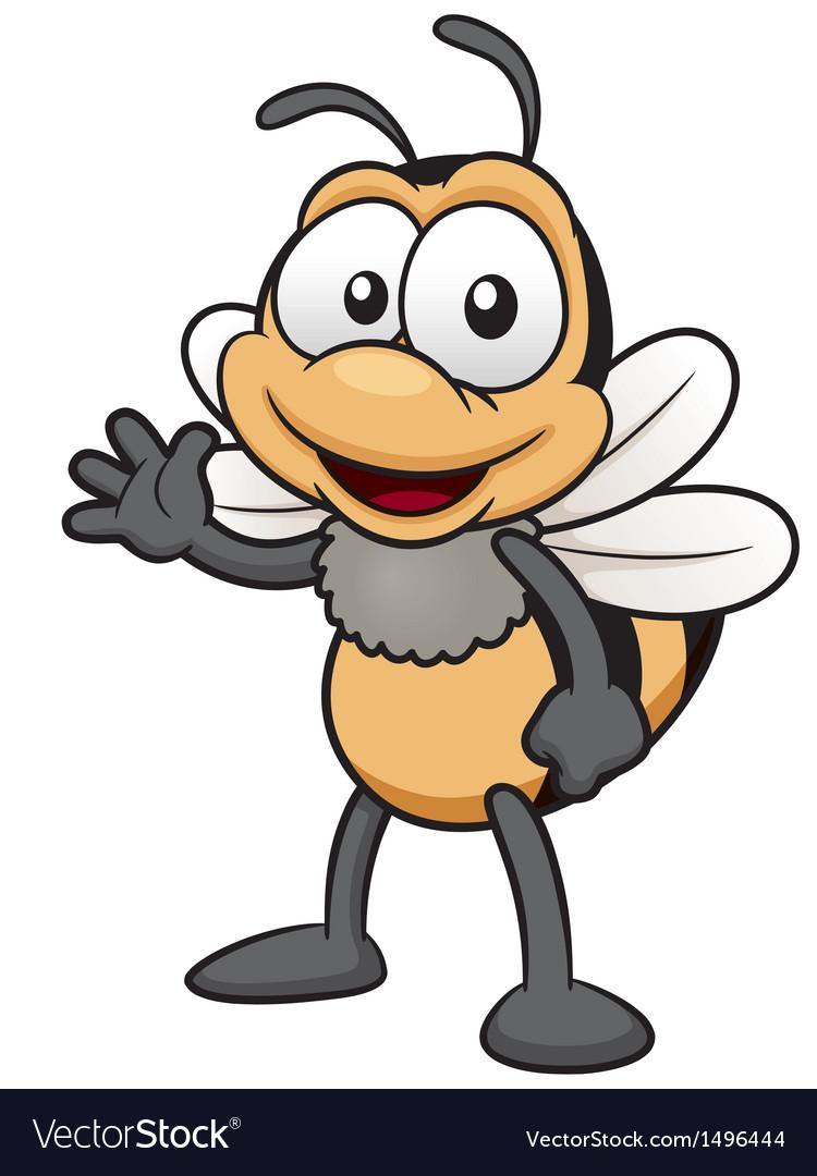 Bee vector image