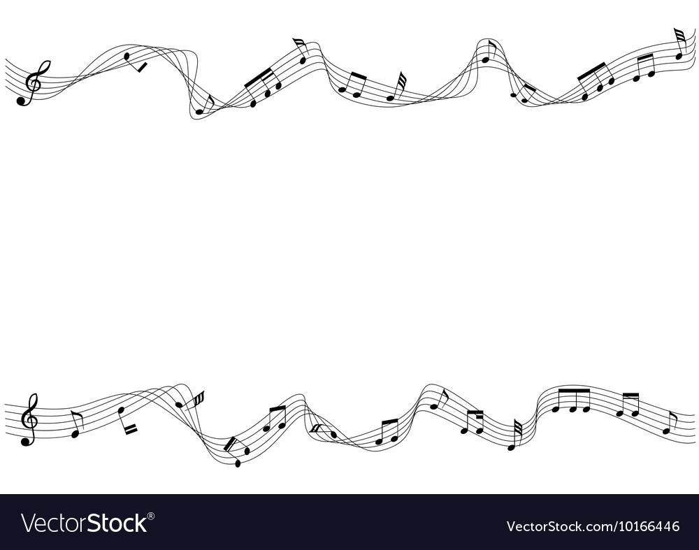 Two row of musical chords moving royalty free vector image two row of musical chords moving vector image hexwebz Image collections