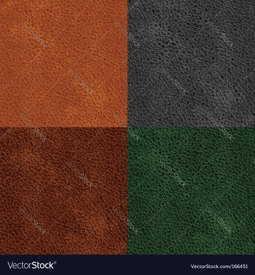 Leather seamless pattern vector image
