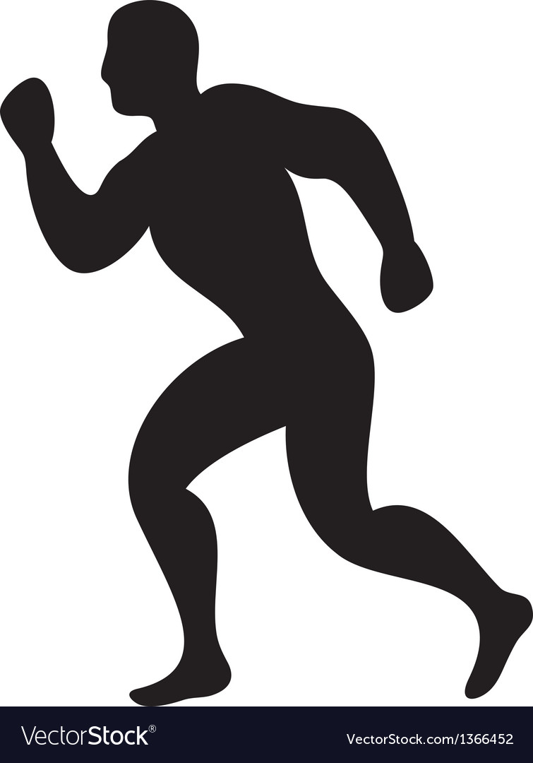 Athletic vector image