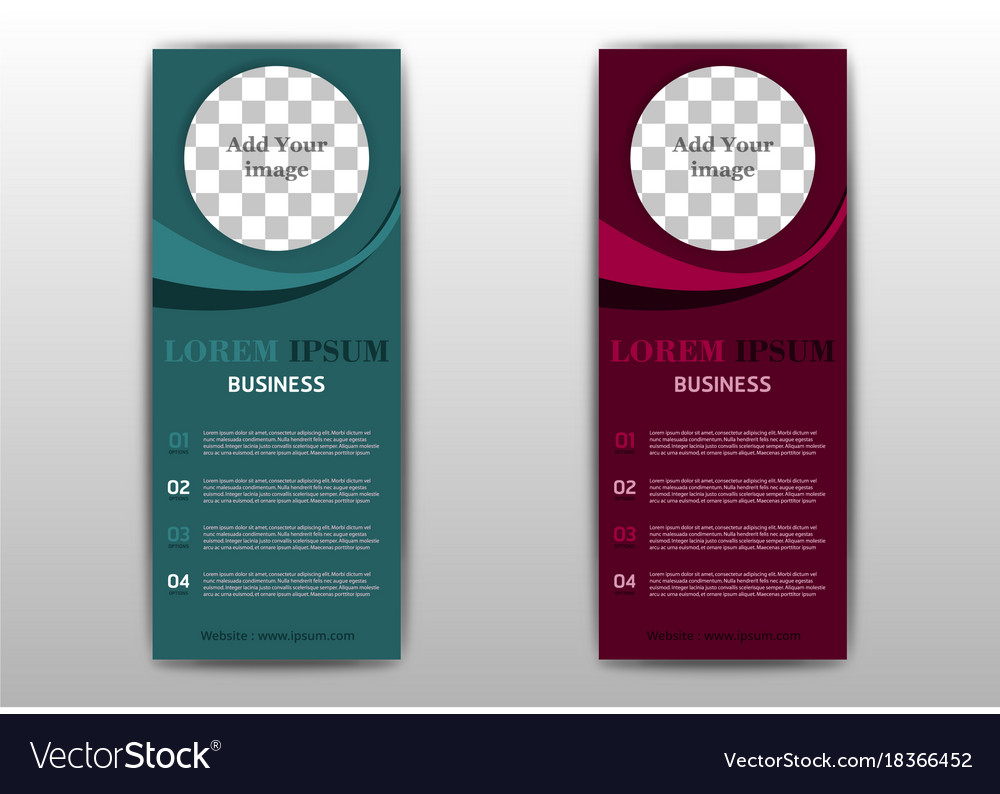 Sets Of Advertisement Flyer Design Elements Eps Vector Image