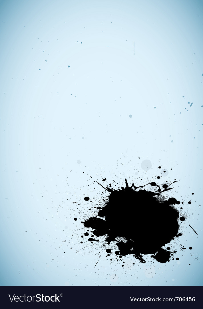 Ink background vector image