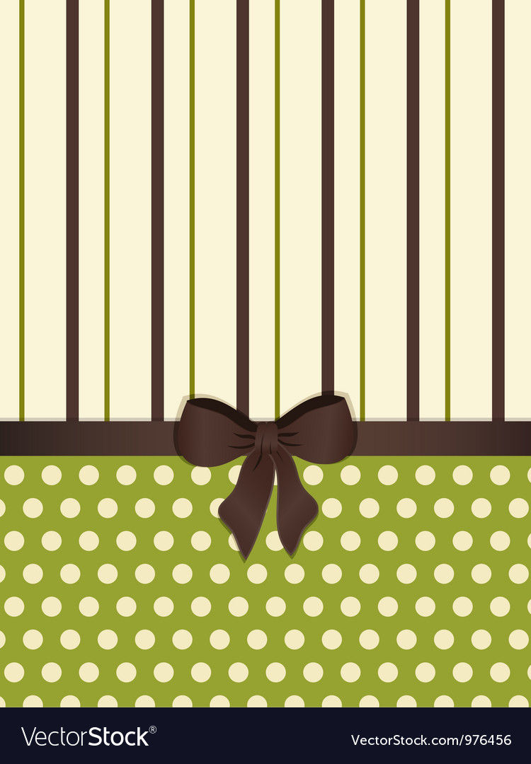 Modern decorative background vector image