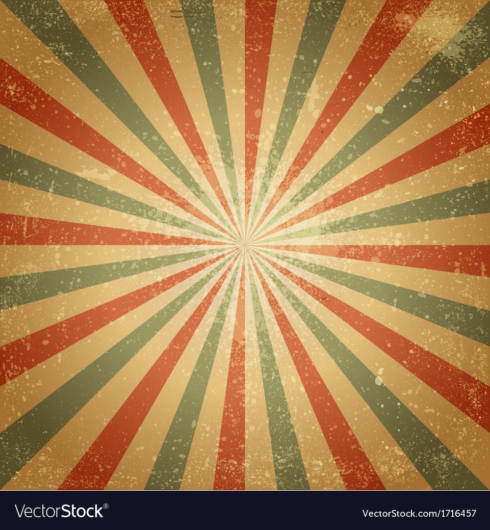 Grunge retro background vector image