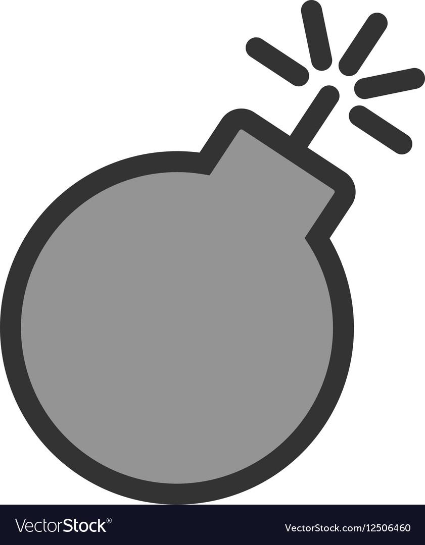 Danger of Explosion vector image