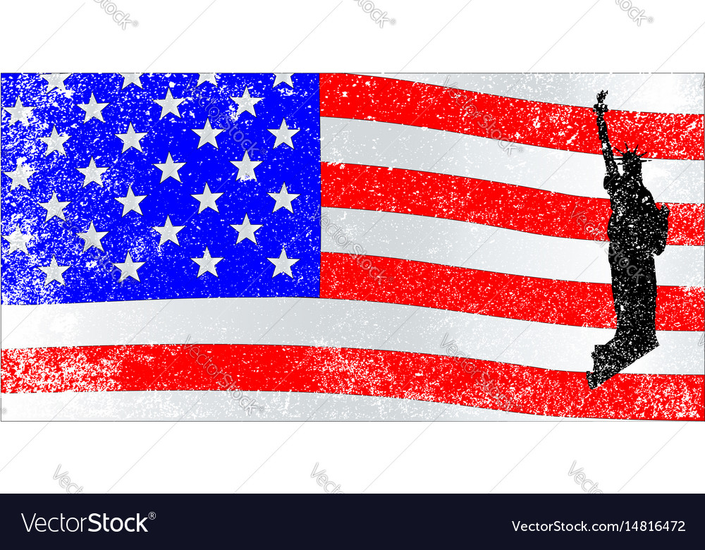 American icons vector image