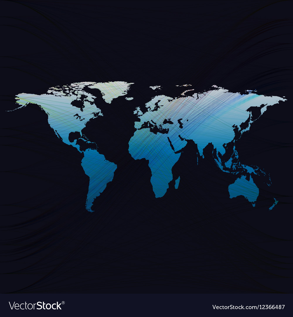 Blue color background with world map abstract vector image blue color background with world map abstract vector image gumiabroncs Image collections
