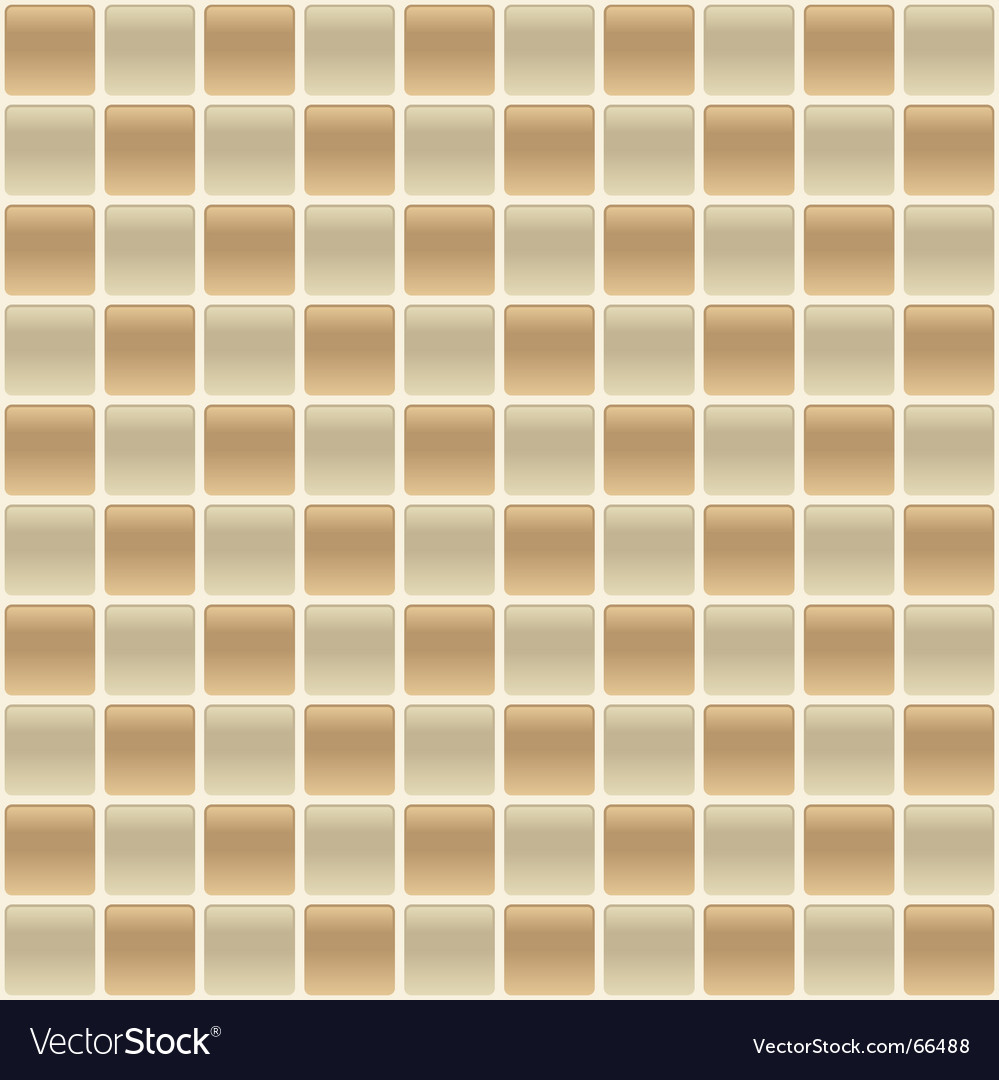 Checkered tile vector image