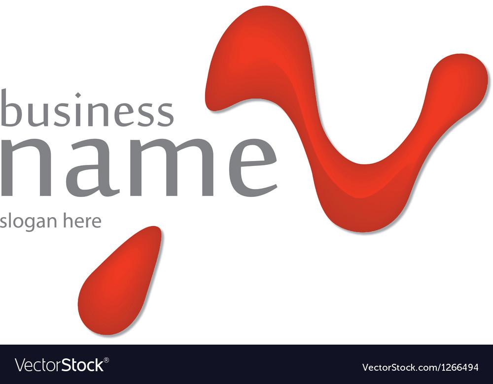 Innovation trickling letter logo vector image