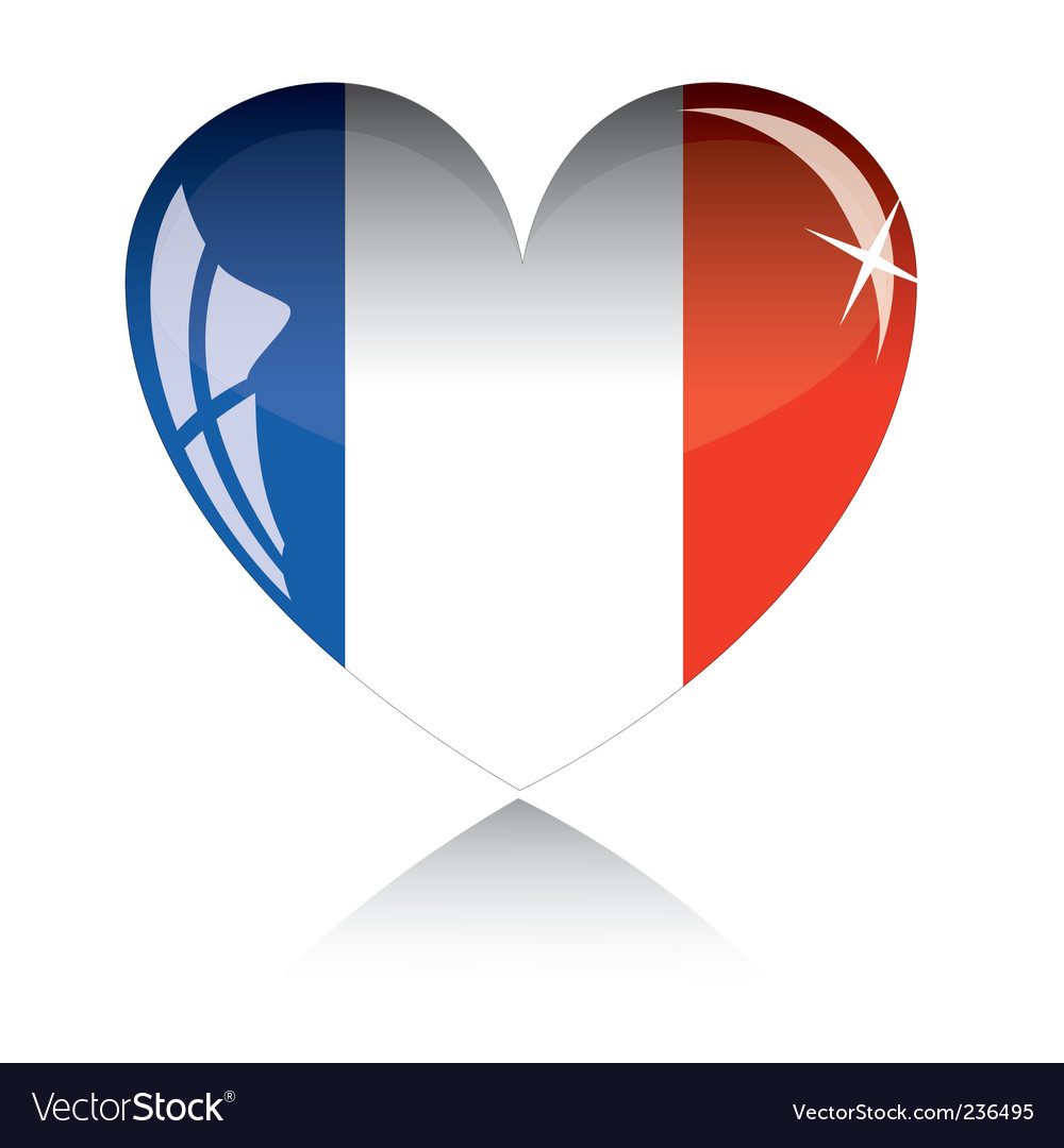 france flag royalty free vector image vectorstock