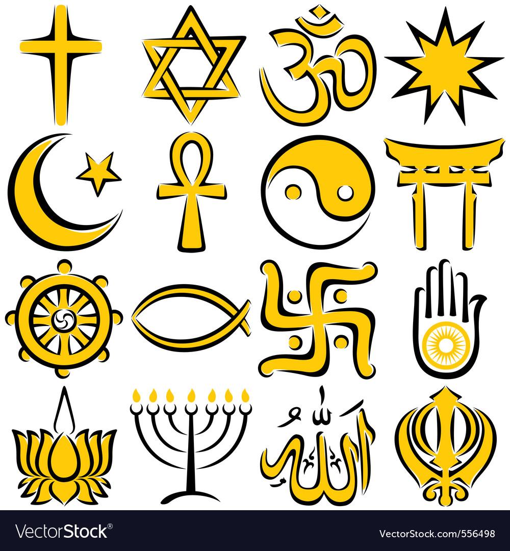 Religious vector images over 40000 religious symbols vector biocorpaavc