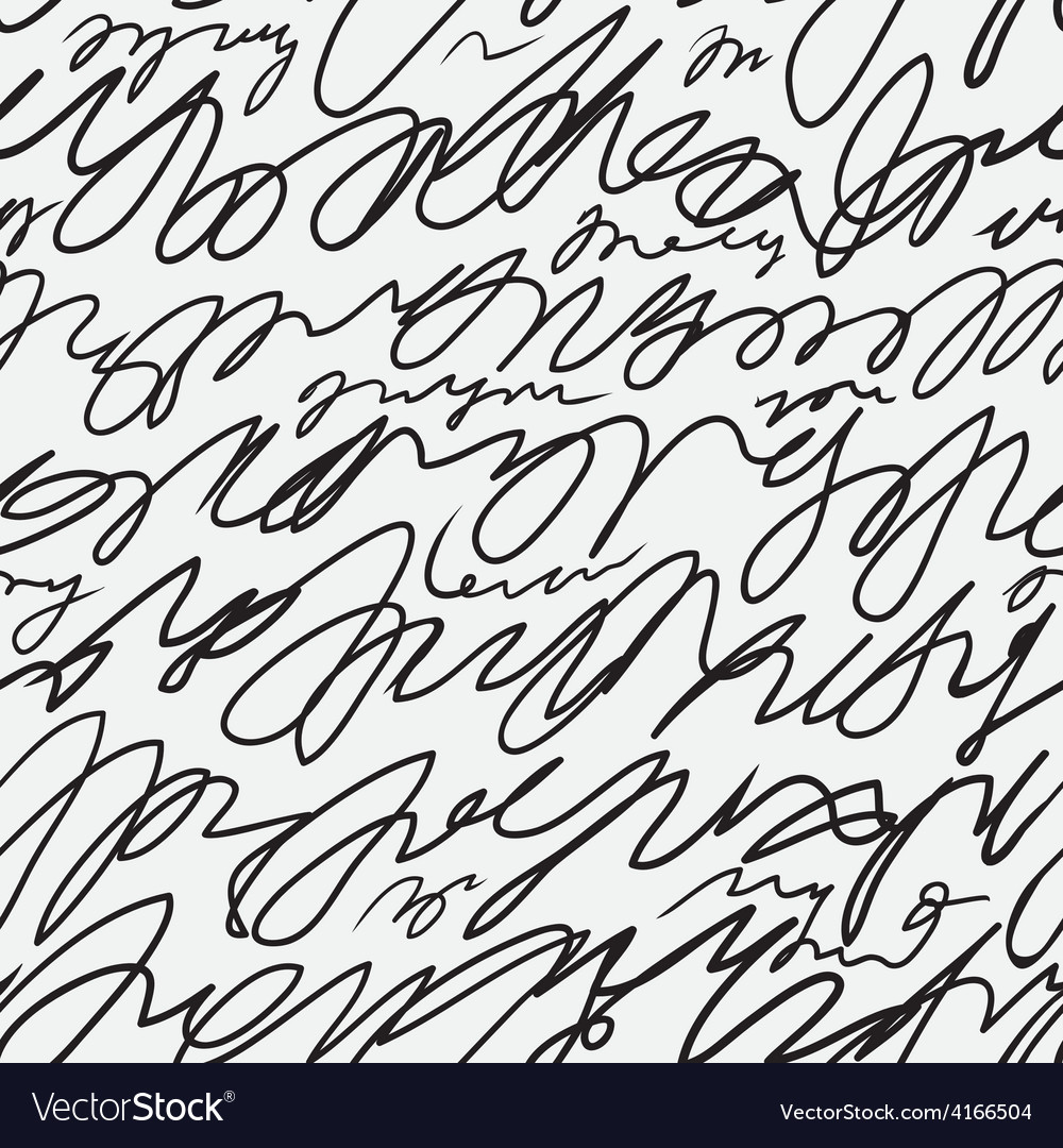 Doodle abstract pattern vector image