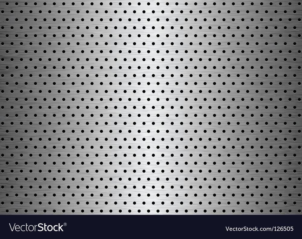 Sheet metal background vector image