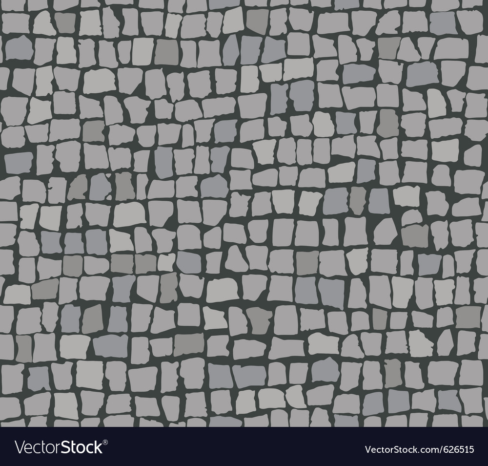 Paving stones vector image