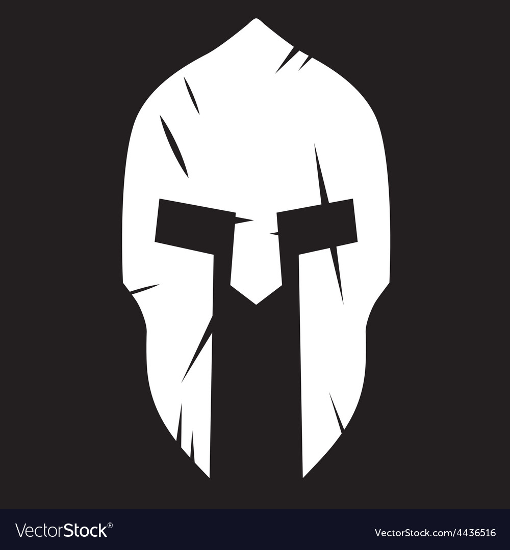Silhouette of spartan helmet with scratches from vector image silhouette of spartan helmet with scratches from vector image pronofoot35fo Choice Image
