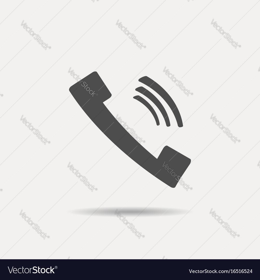 Phone icon phone icon vector image