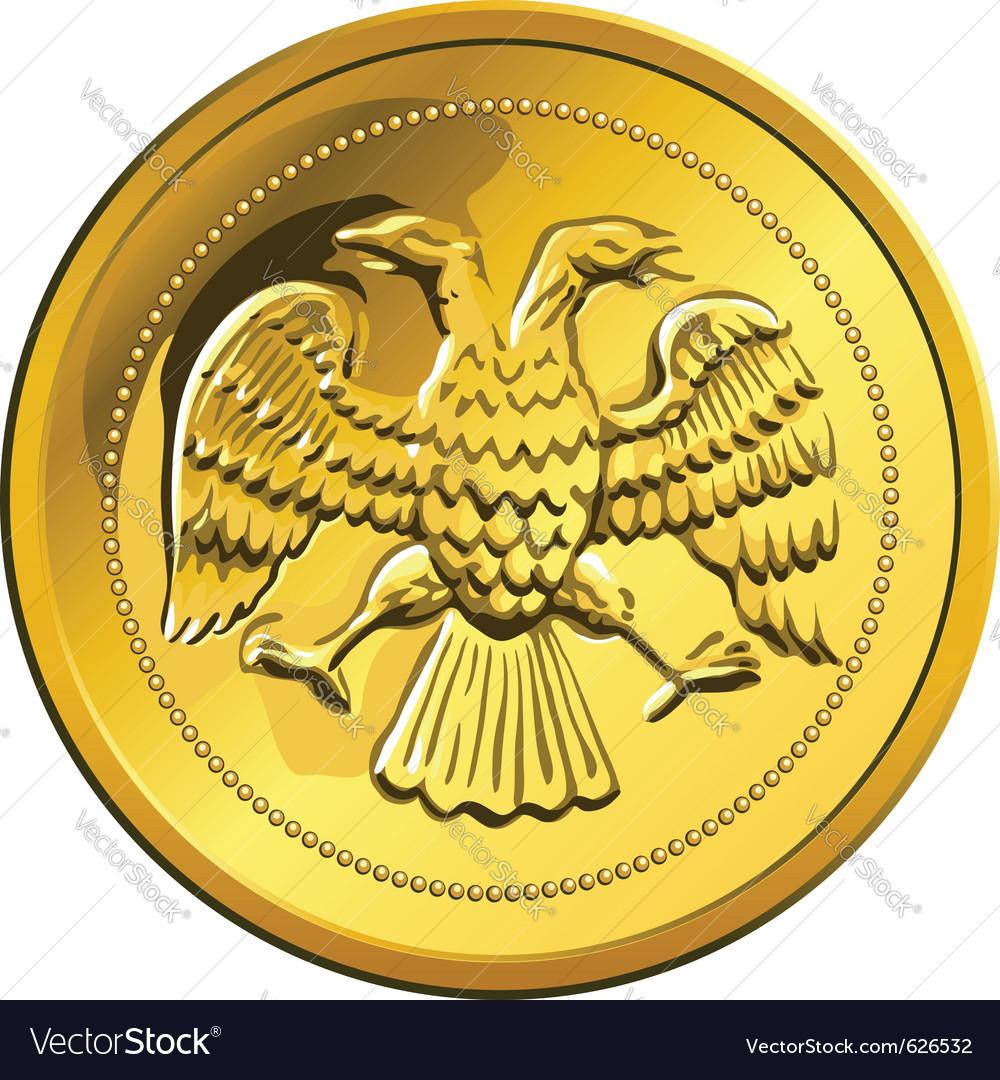 Russian money vector image