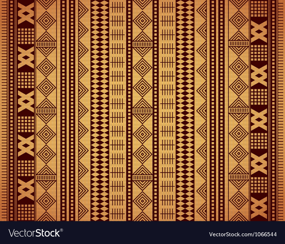 African texture vector image