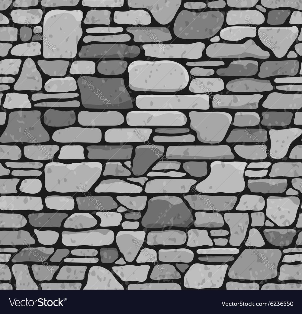 Seamless Stone Texture Vector Image
