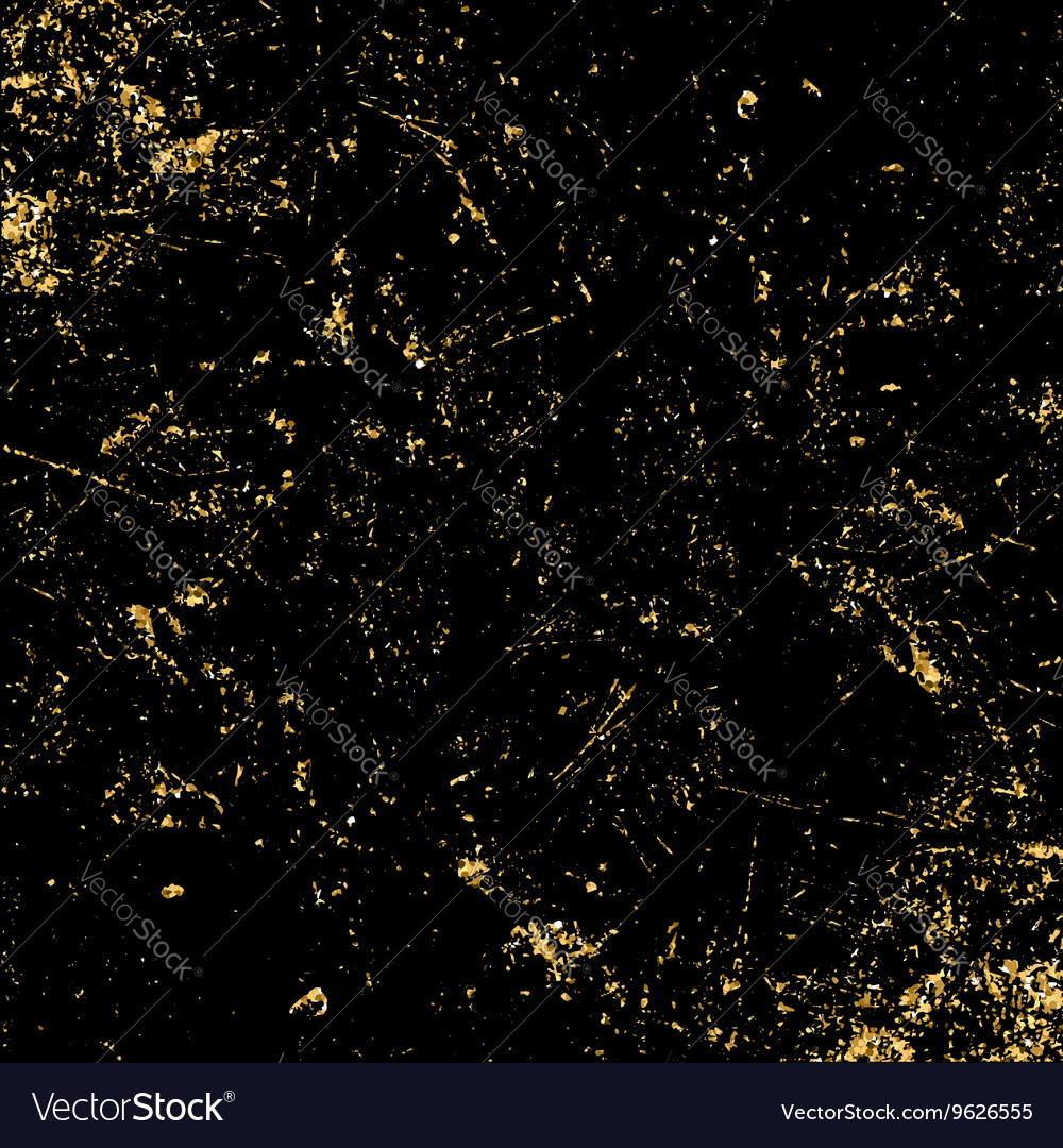 Black Ceiling Lamp Royalty Free Vector Image: Light Grunge Gold Black Texture Royalty Free Vector Image