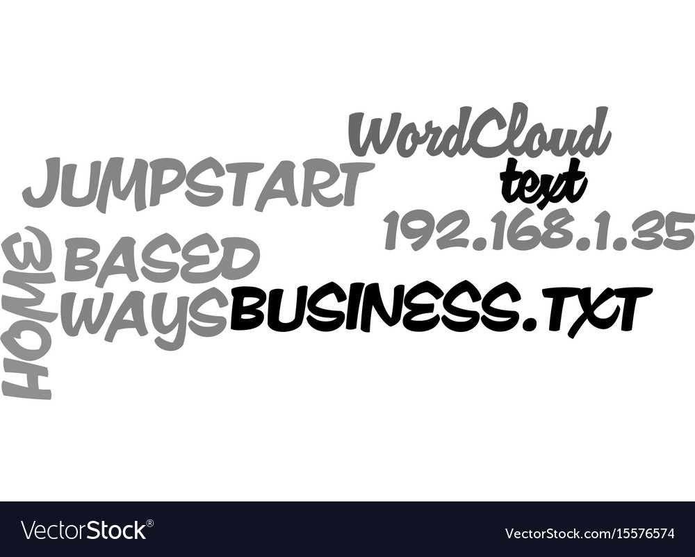 Ways to jumpstart your home based business text vector image