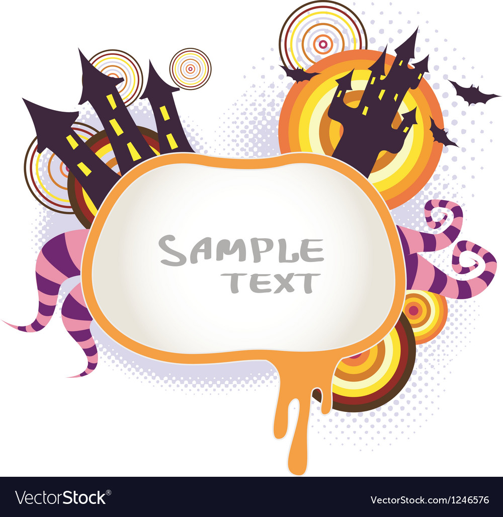 Halloween Background 3 vector image