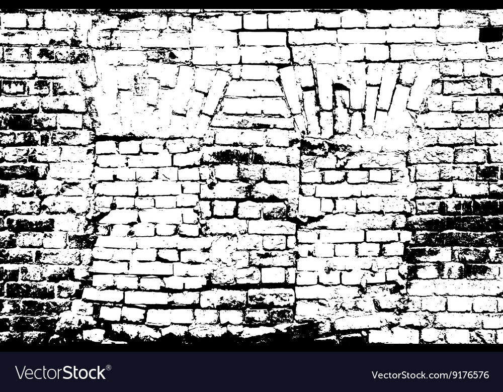 Grunge TextureGrunge Background Bricks Texture Vector Image