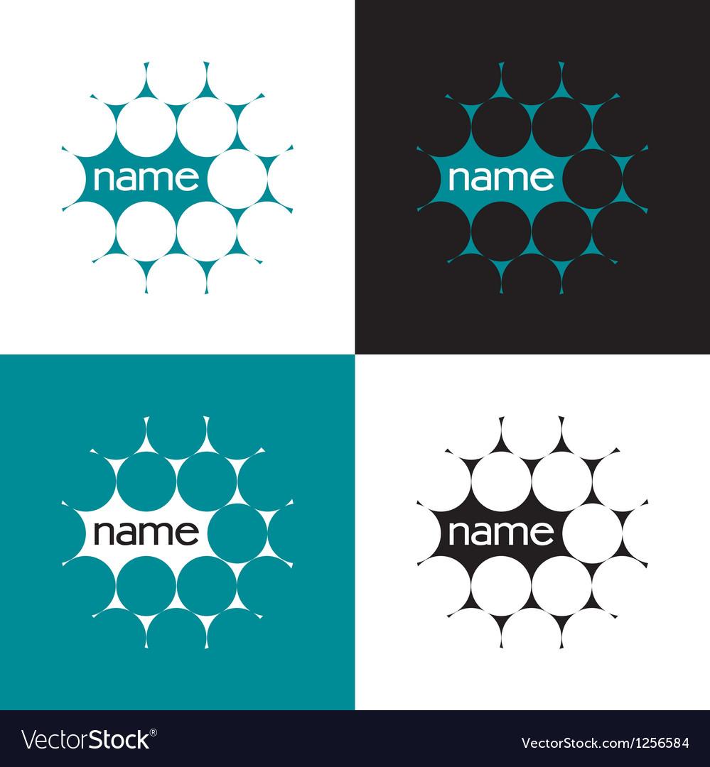 Science logo vector image
